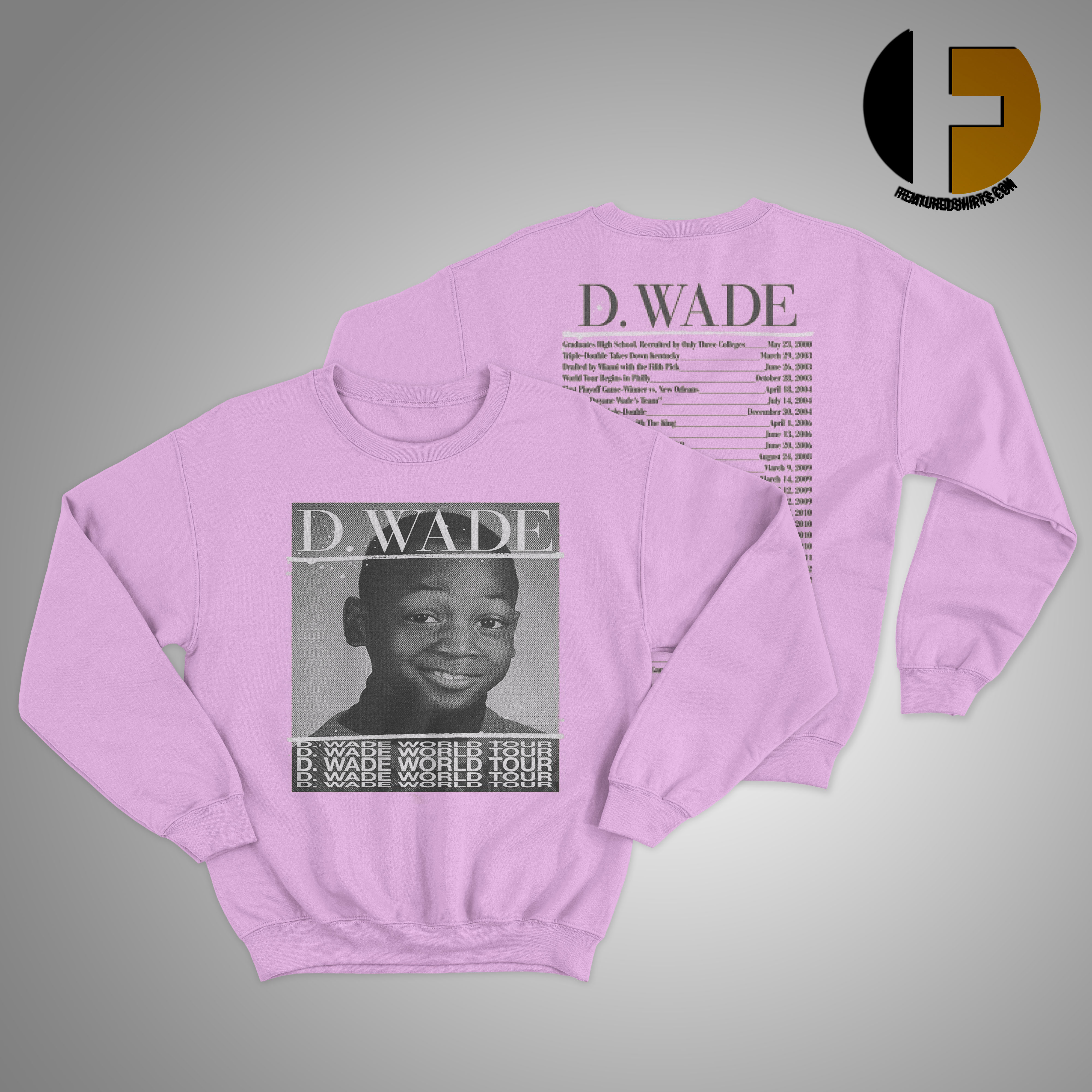 D Wade World Tour Sweater