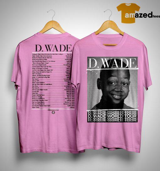 D Wade World Tour Shirt