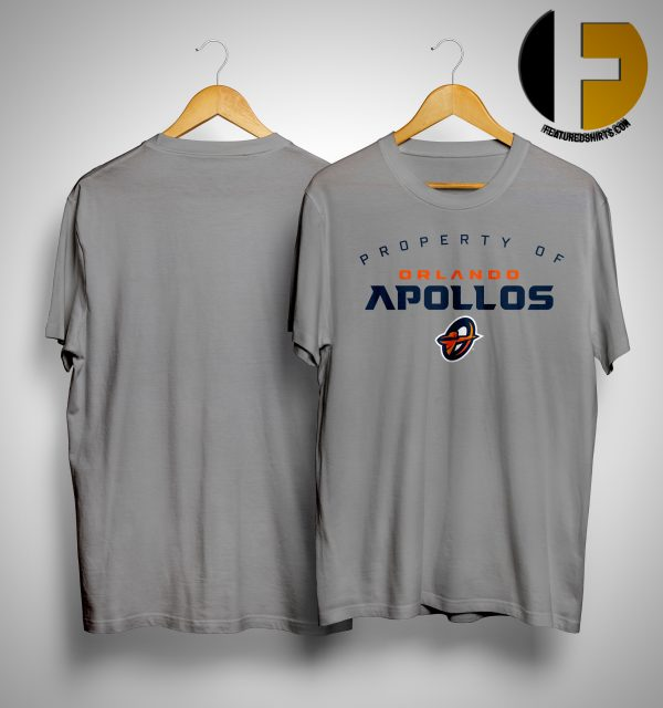 Property Of Orlando Apollos Shirt