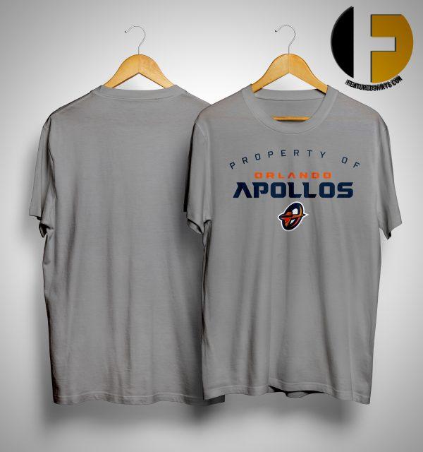 Property Of Orlando Apollos Shirt