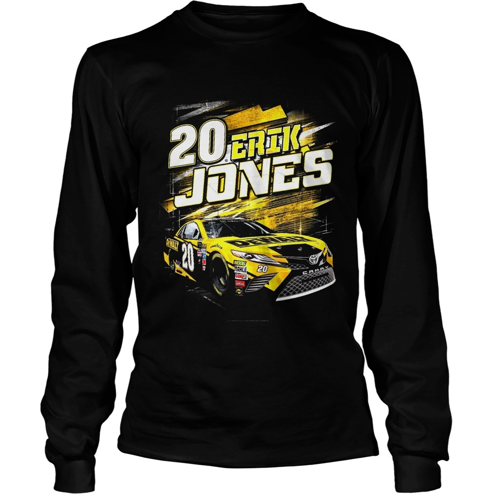 20 Erik Jones Longsleeve Tee