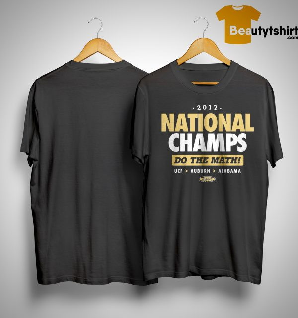 2017 National Champs Do The Math Shirt