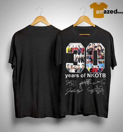 30 Years Of Nkotb Shirt