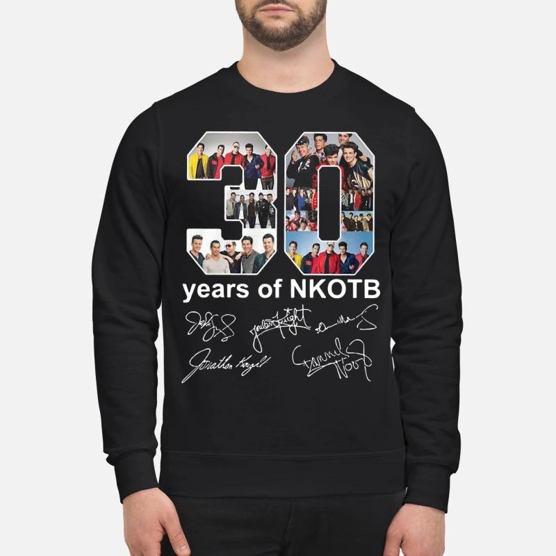 30 Years Of Nkotb Sweater