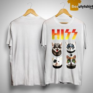 4 Cat Hiss Shirt