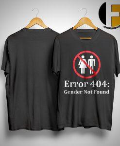 Amanda Jette Knox Error 404 Gender Not Found Shirt