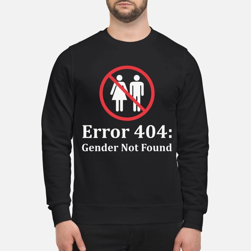 Amanda Jette Knox Error 404 Gender Not Found Sweater