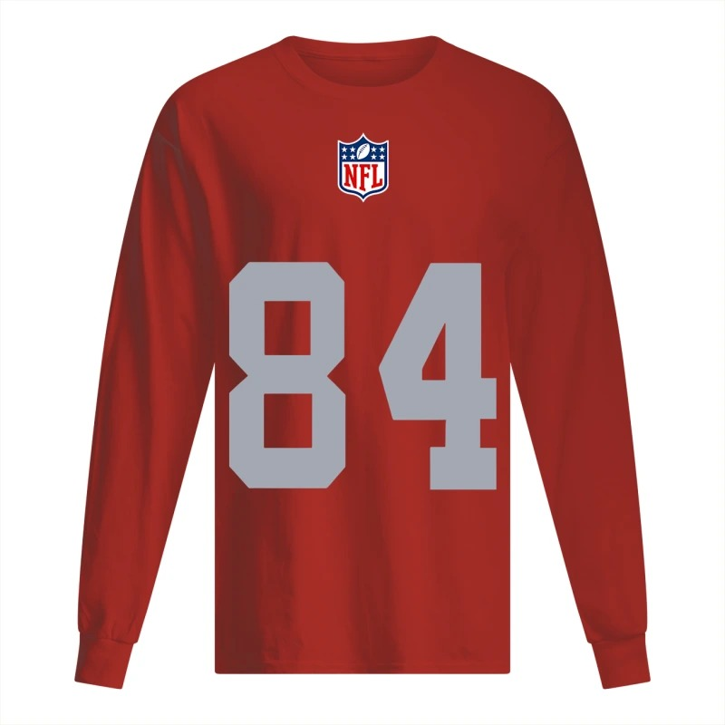 Antonio Brown Raiders #84 Jersey Longsleeve Tee