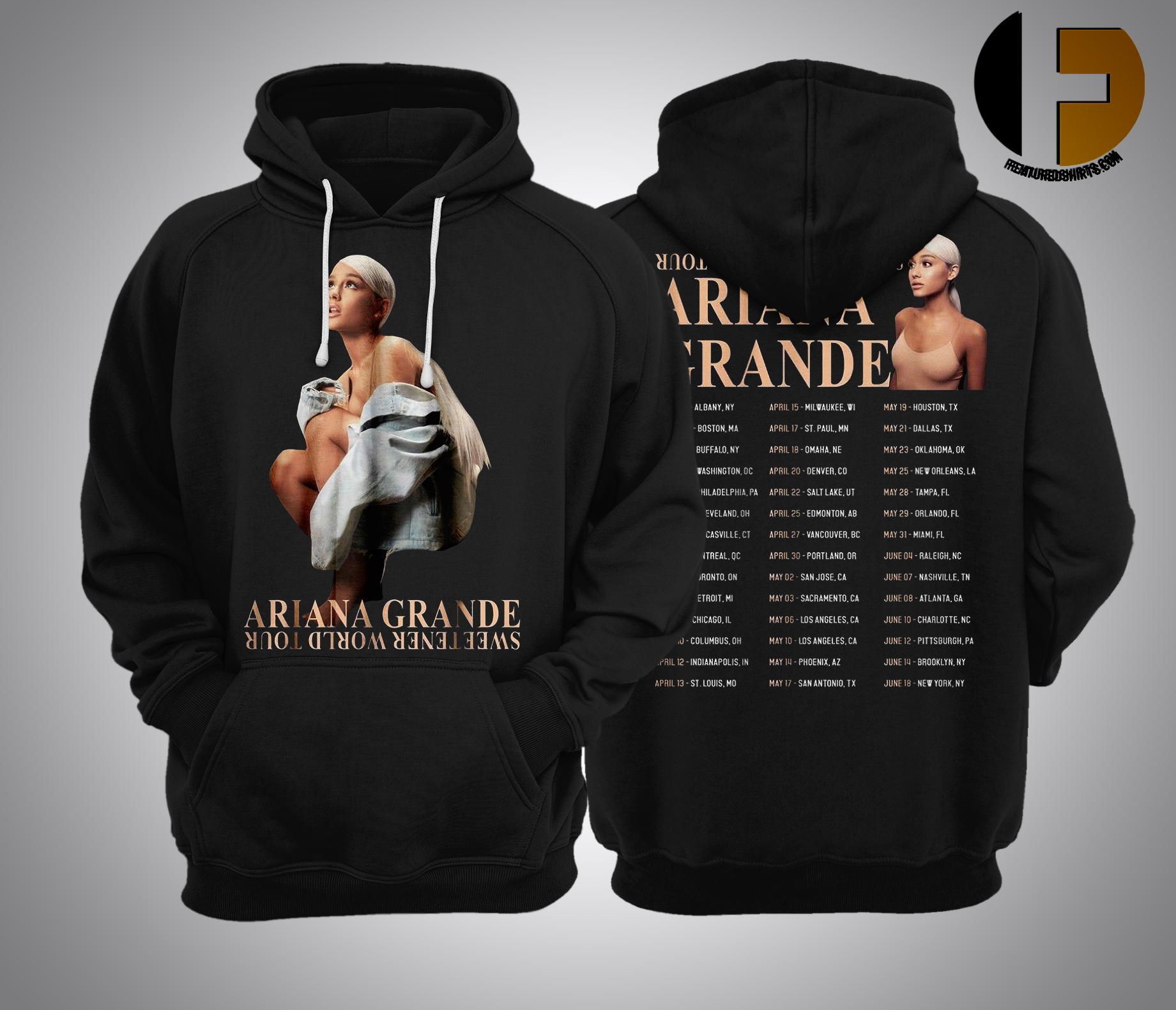 Ariana Grande Sweetener World Tour 2019 Hoodie