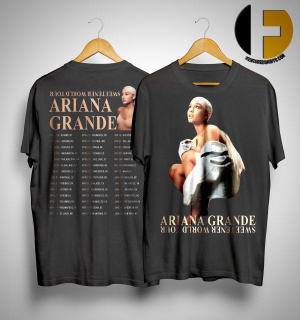 Ariana Grande Sweetener World Tour 2019 Shirt