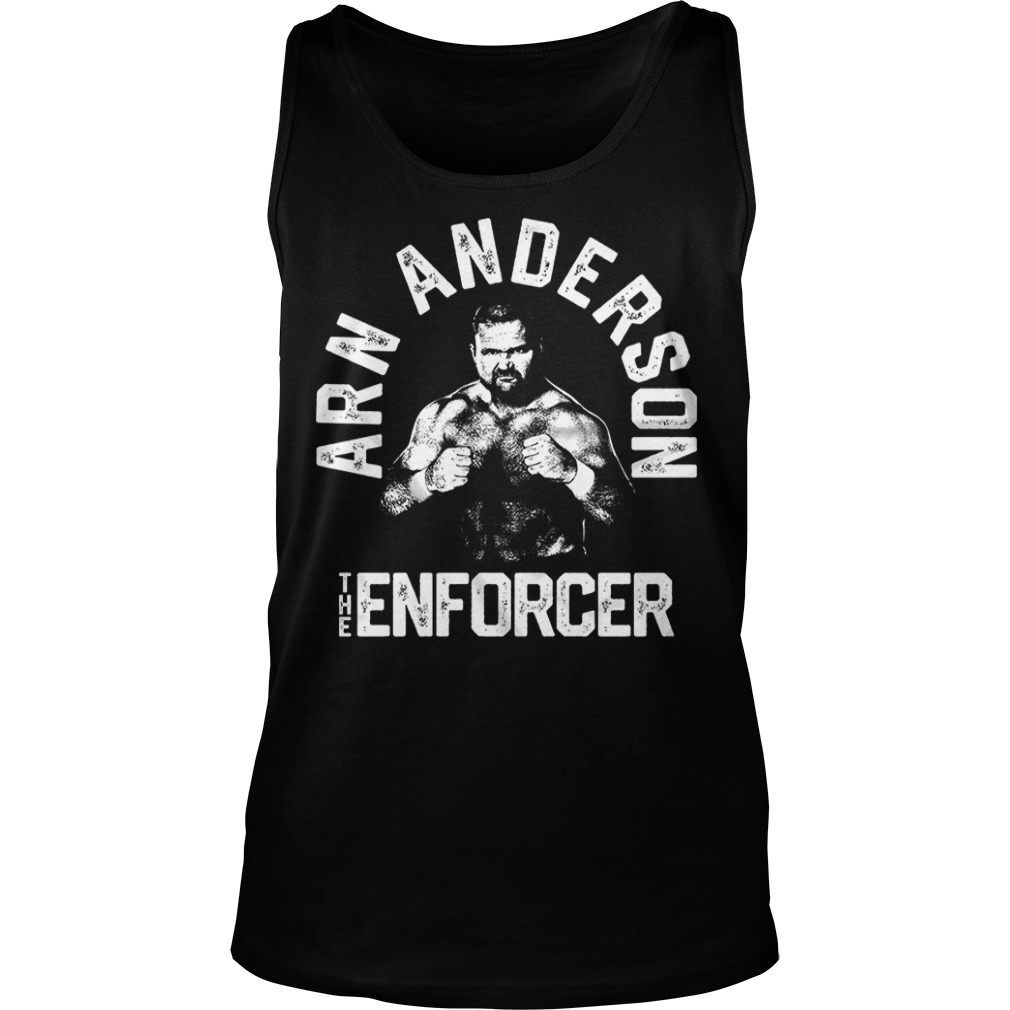 Arn Anderson The Enforcer Tank Top