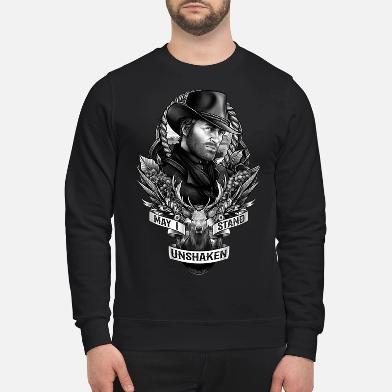 Arthur Morgan May I Stand Unshaken Sweater