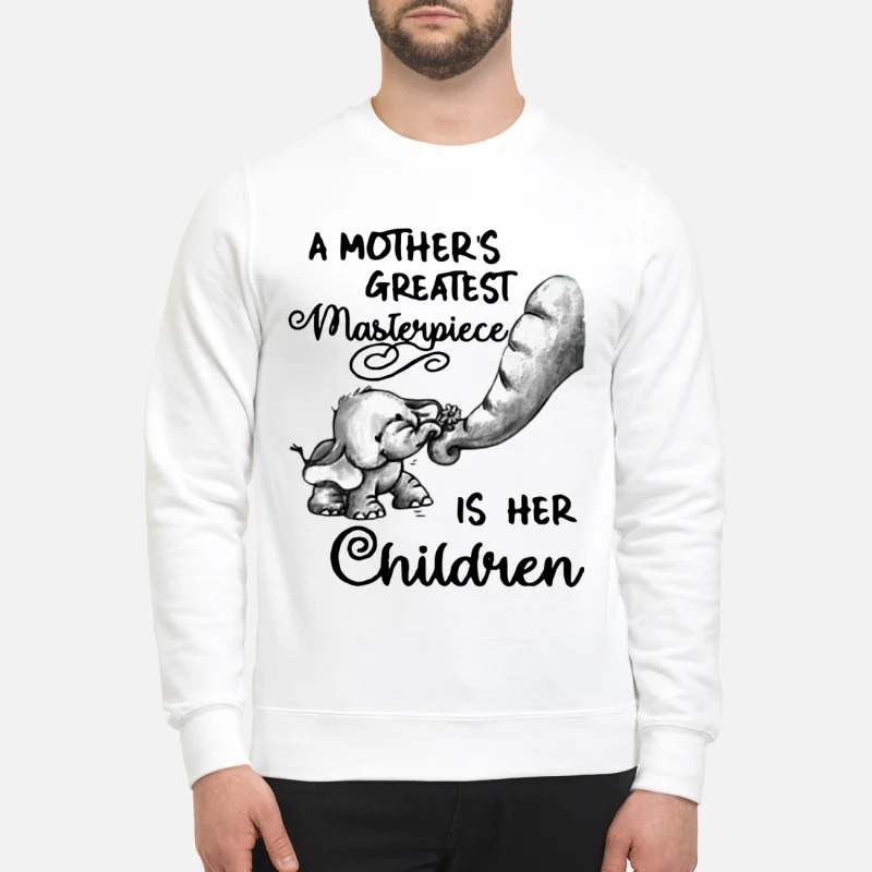 Baby Elephant A Mother's Greatest Masterpiece Is Her Children Sweater
