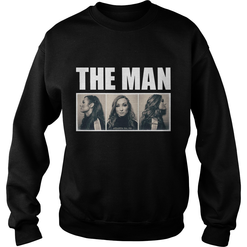 Becky Lynch The Man Mugshot Sweater