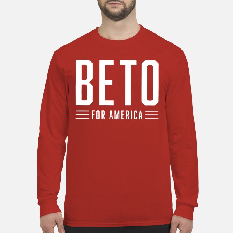 Beto For America Logo Campaign Longsleeve Tee