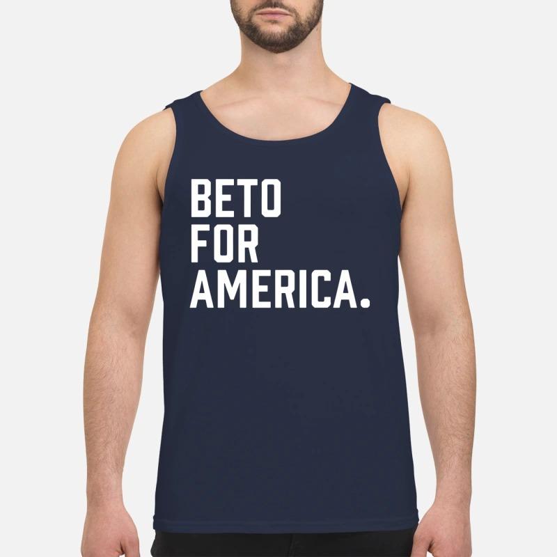 Beto O'Rourke Beto For America Campaign Tank Top