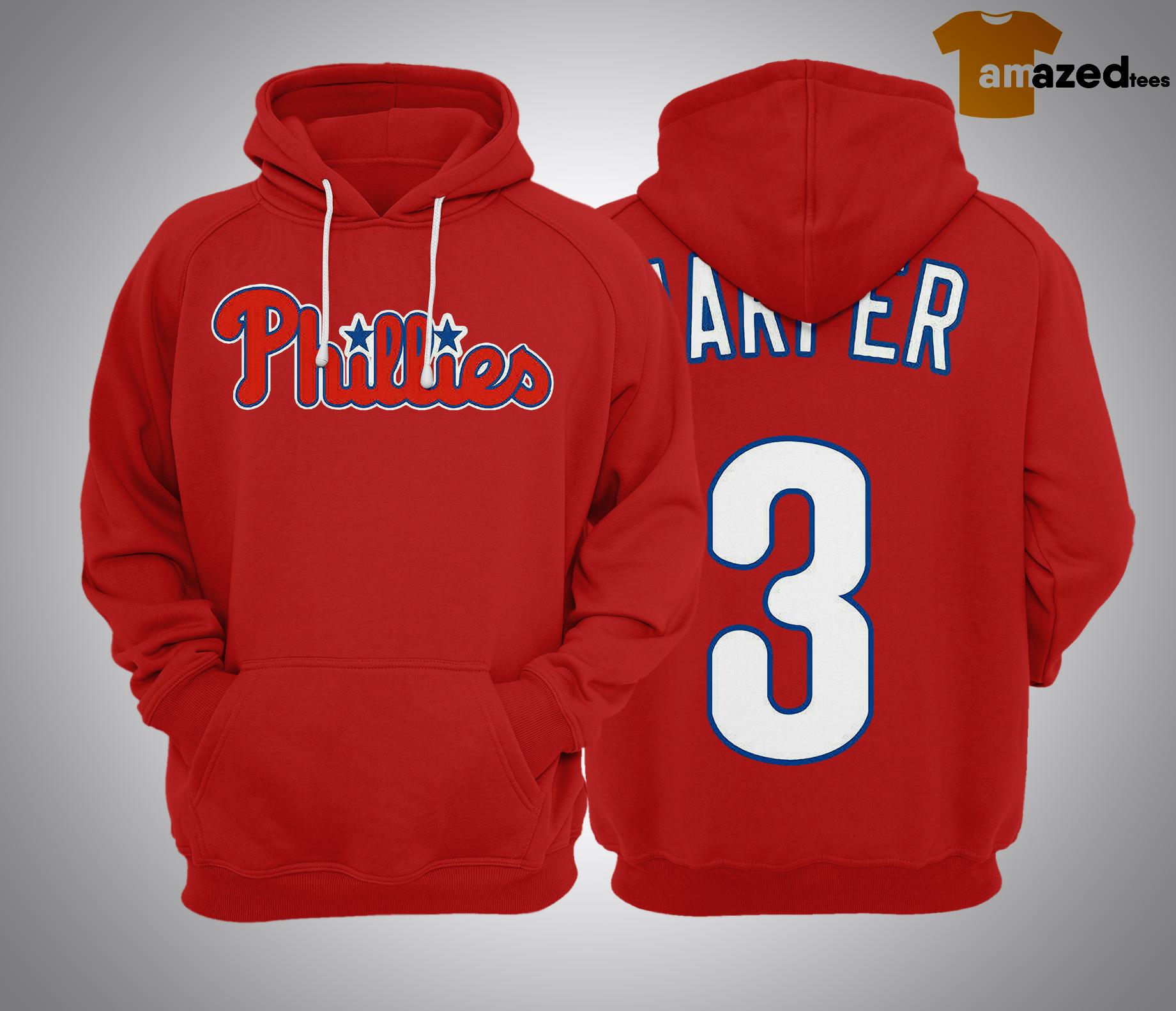 Bryce Harper Philadelphia Phillies #34 MLB Hoodie
