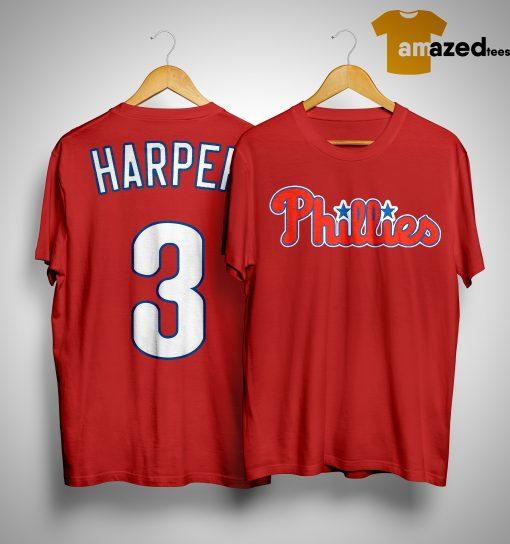 Bryce Harper Philadelphia Phillies #34 MLB Shirt