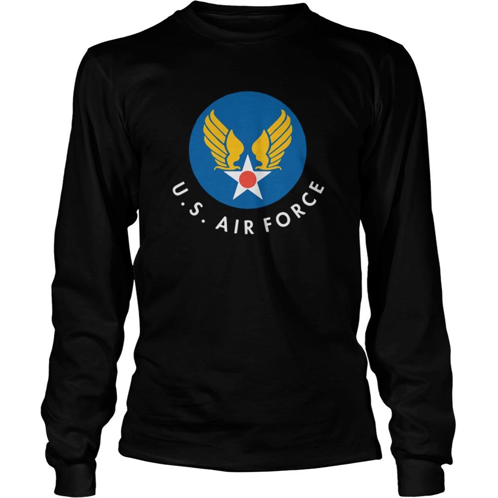 Captain Marvel Carol Danvers US Air Force Longsleeve Tee