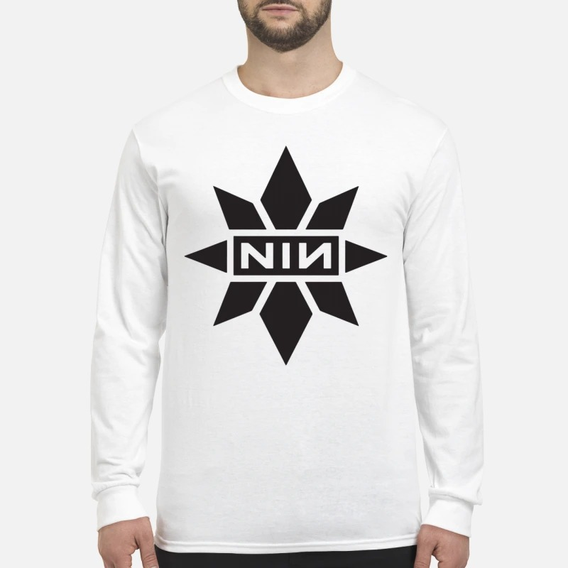 Captain Marvel Nine Inch Nails Longsleeve Tee