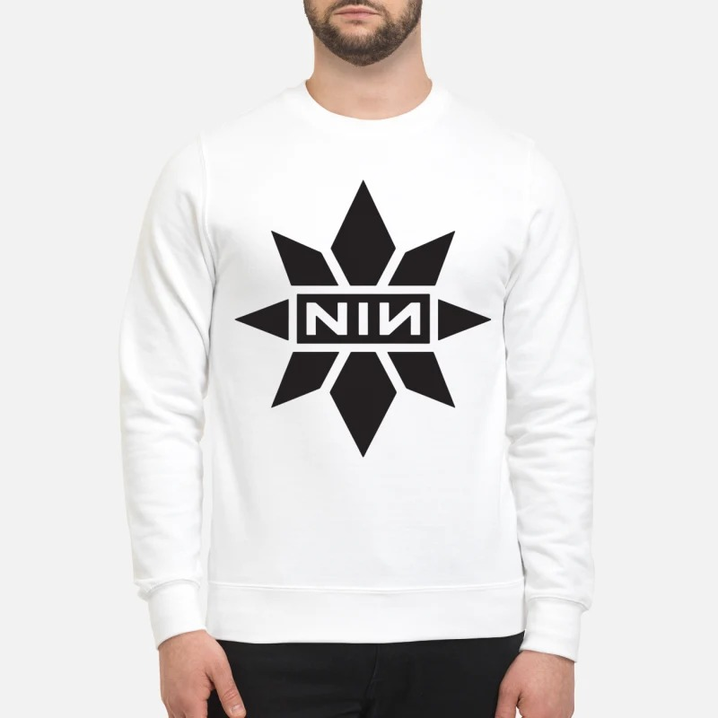 Captain Marvel Nine Inch Nails Sweater