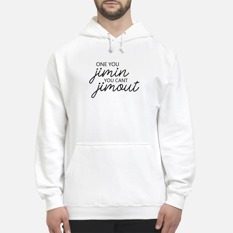 Caught In Alie Once You Jimin You Can't Jimout Hoodie