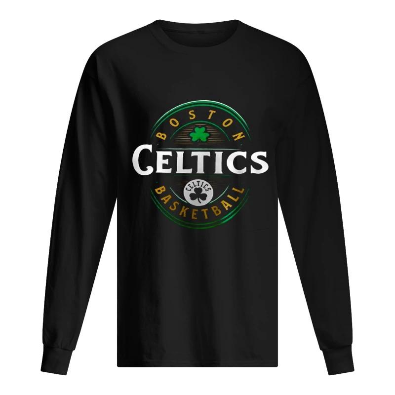 Celtics St Patrick's Day Forever Lucky Longsleeve Tee