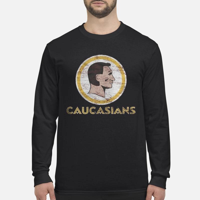 Charitie Redskins Caucasians Longsleeve Tee