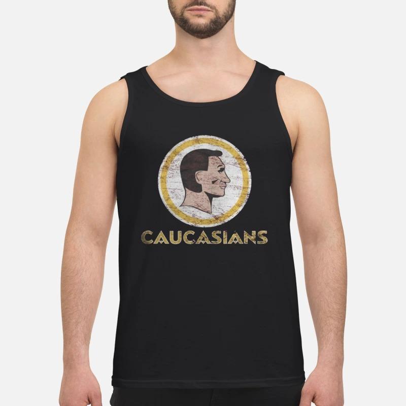 Charitie Redskins Caucasians Tank TopCharitie Redskins Caucasians Tank Top