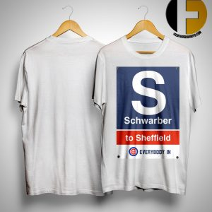 Chicago Cubs Schwaber To Sheffield Every Body In Shirt