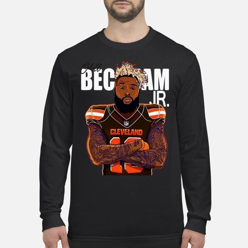 Cleveland Browns Odell Beckham JR Longsleeve Tee