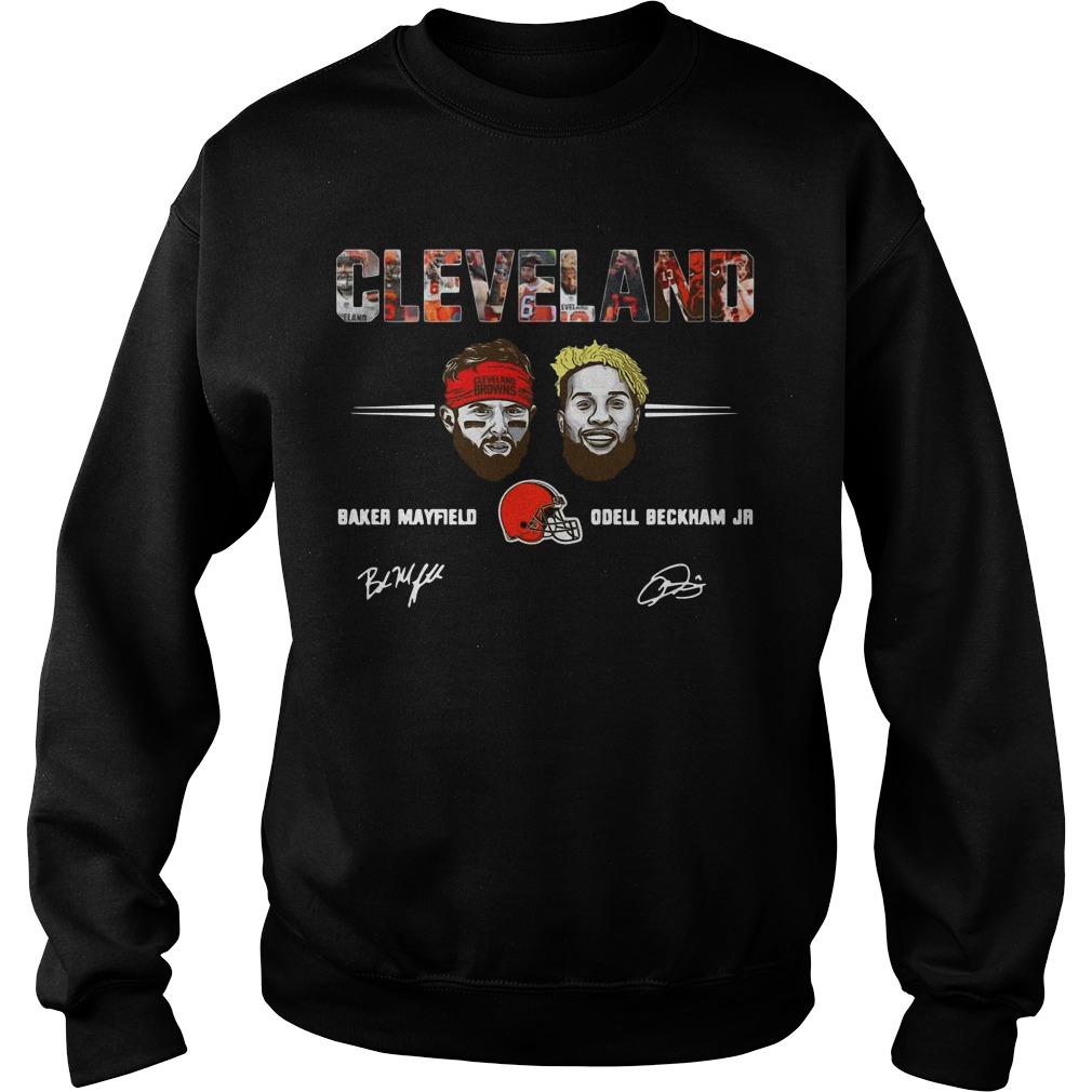 Cleveland Browns Odell Beckham Jr Signature Sweater