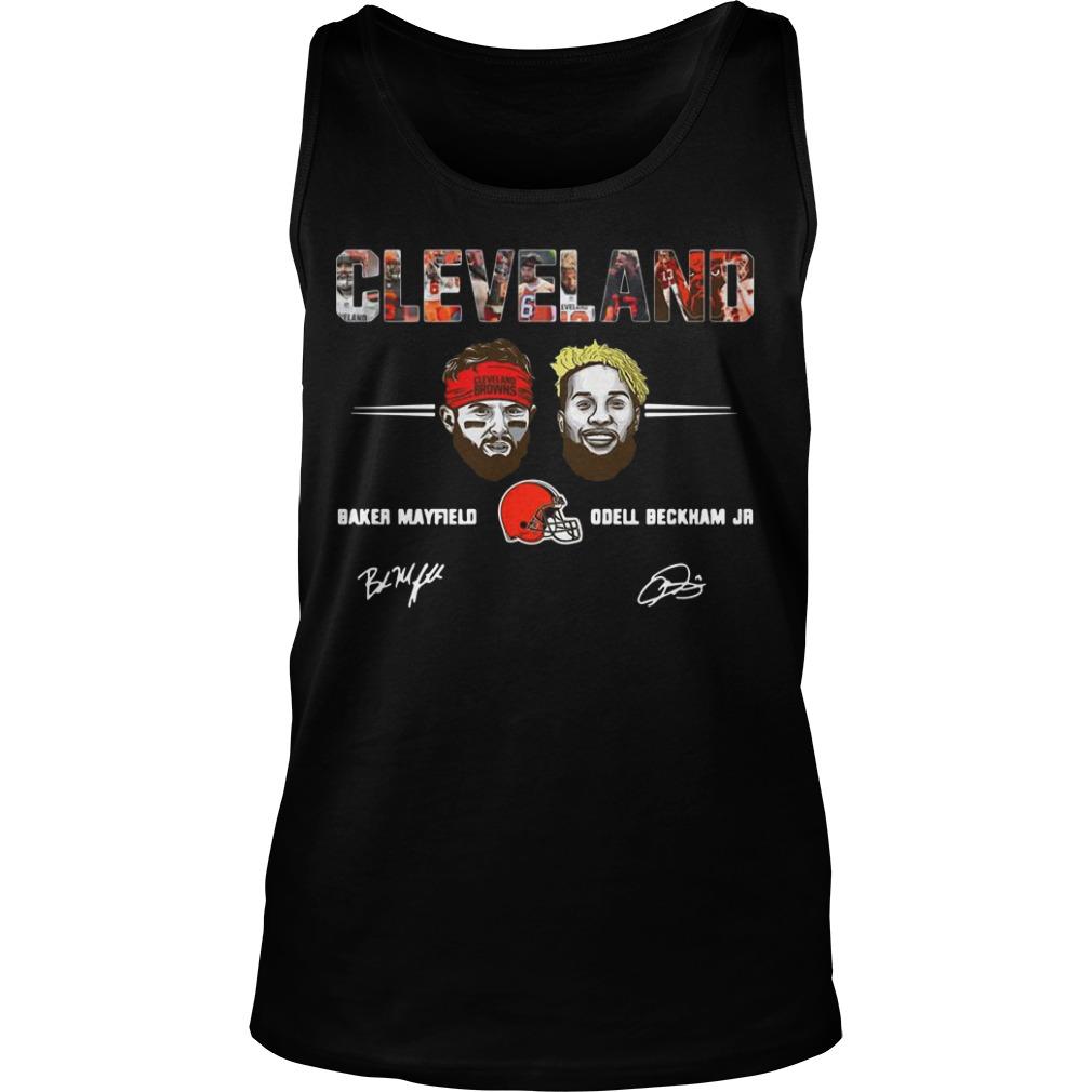 Cleveland Browns Odell Beckham Jr Signature Tank Top