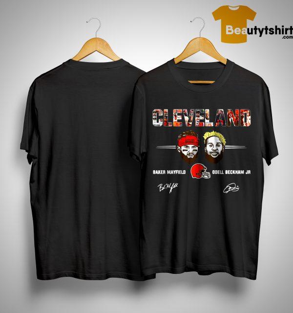 Cleveland Browns Odell Beckham Jr Signature Shirt