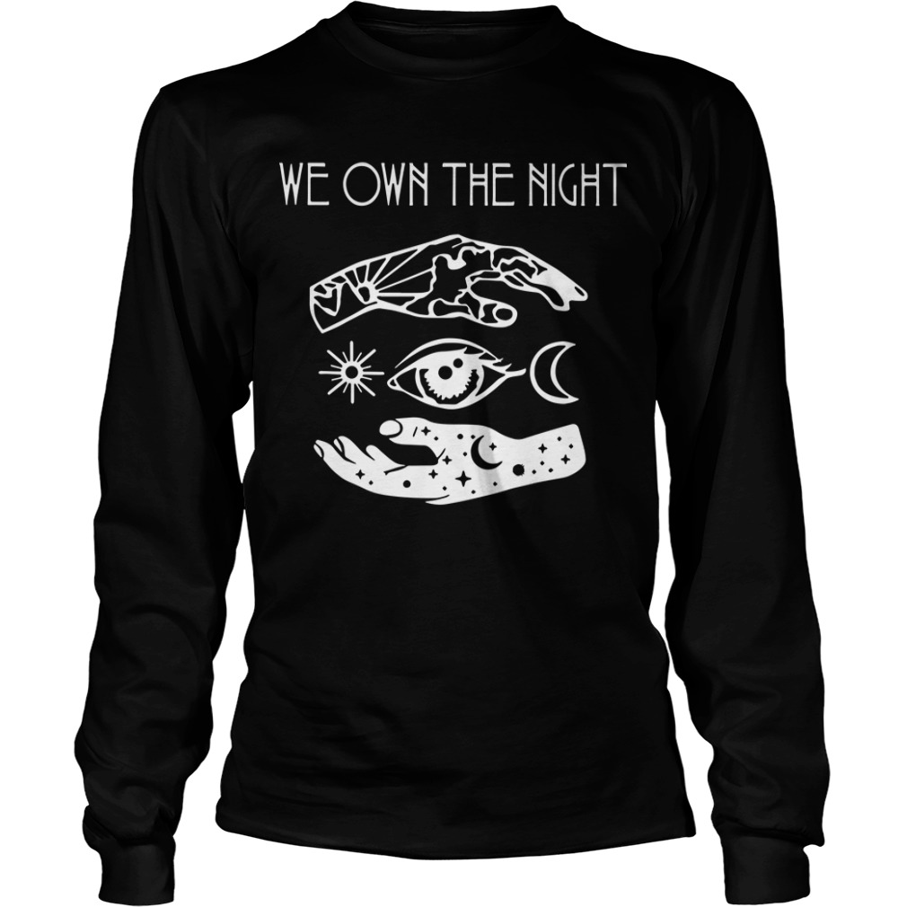 Dance Gavin Dance We Own The Night Longsleeve Tee