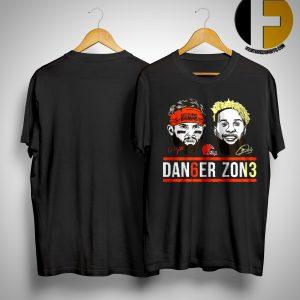 Danger Zone 6 Baker Mayfield 13 Cleveland Browns Signature Shirt