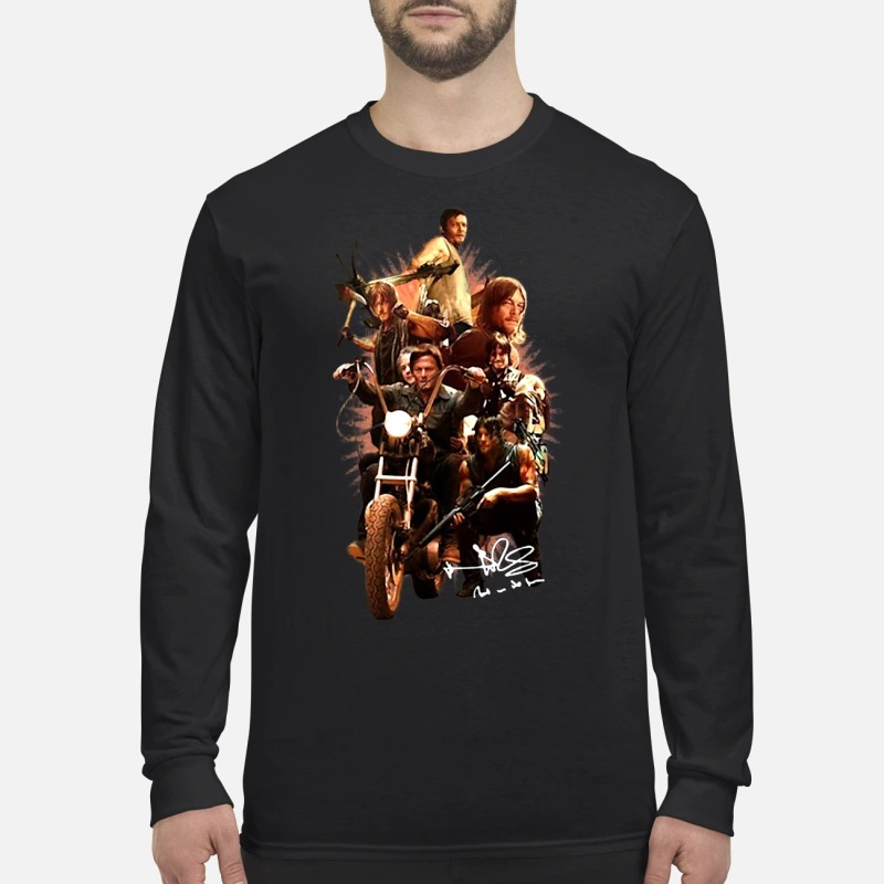 Daryl's Life In The Walking Dead Longsleeve Tee