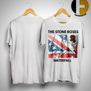 David Beckham stone roses waterfall t shirt