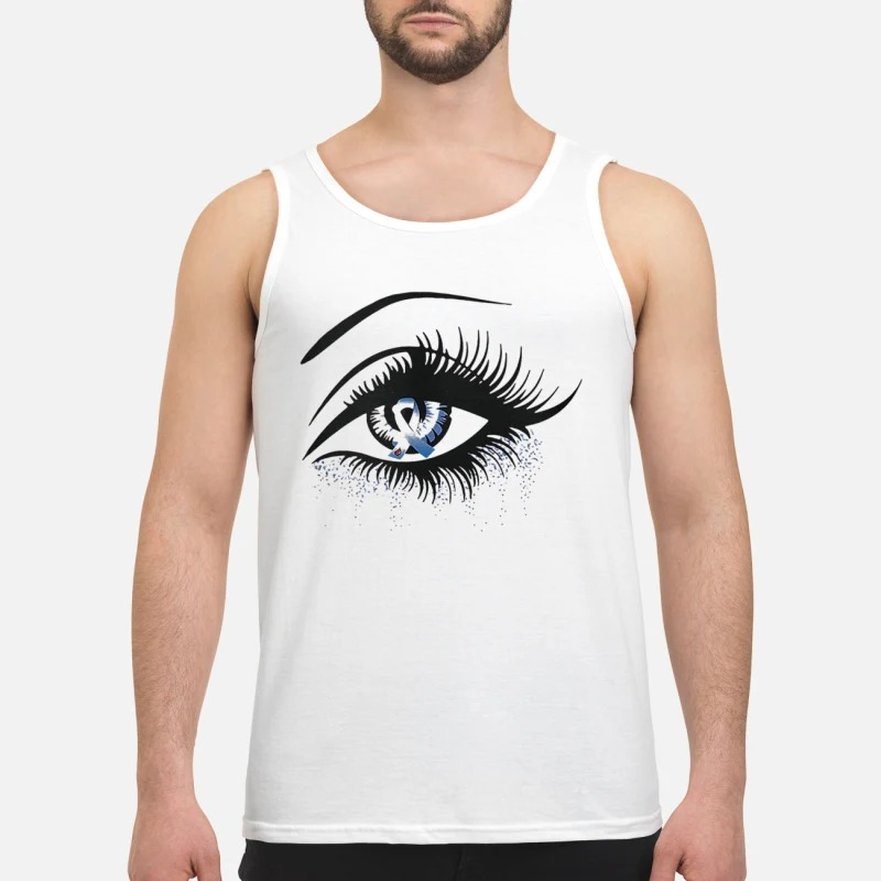Diabetes And Cancer Awareness In The Eye Tank Top