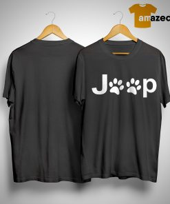 Dog Paw Jeep Shirt
