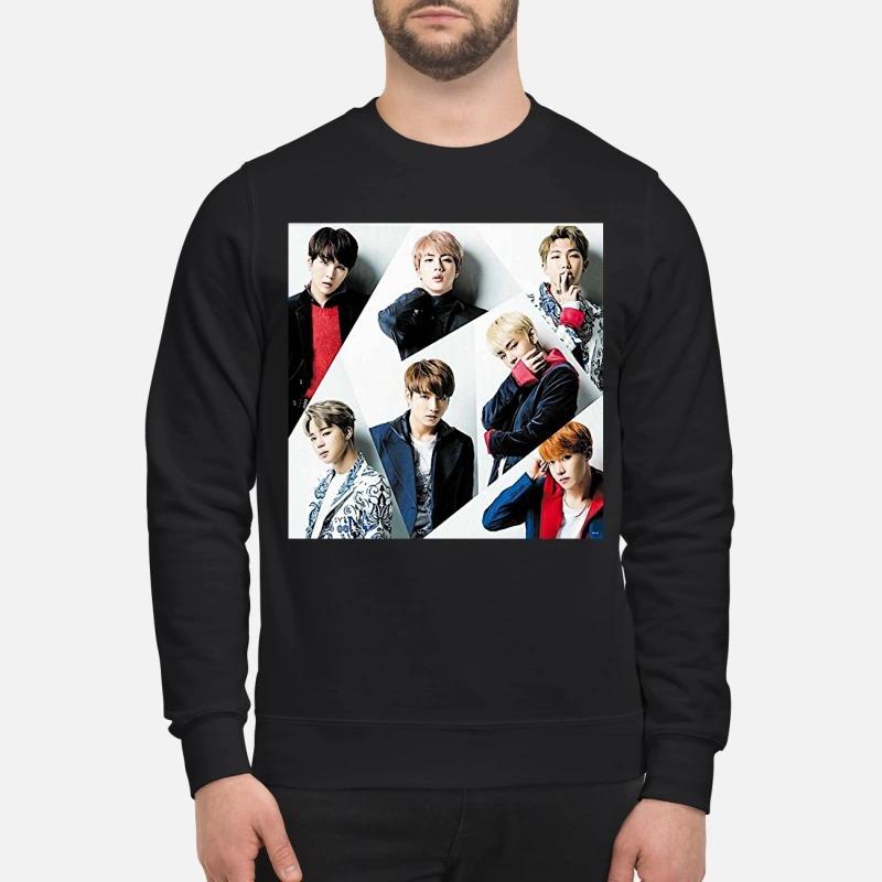 Donnie Wahlberg BTS Sweater