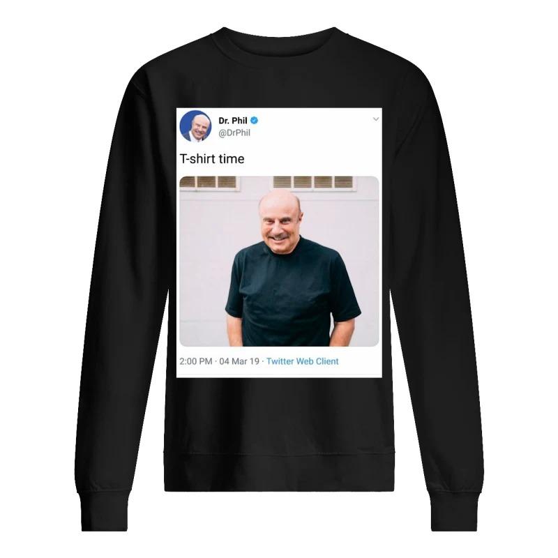 Dr Phil Sweater Time Recursive