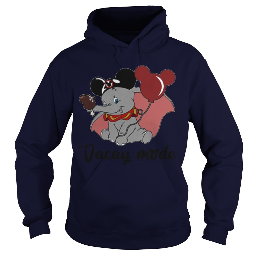 Dumbo Mickey Mouse Vacay Mode Hoodie