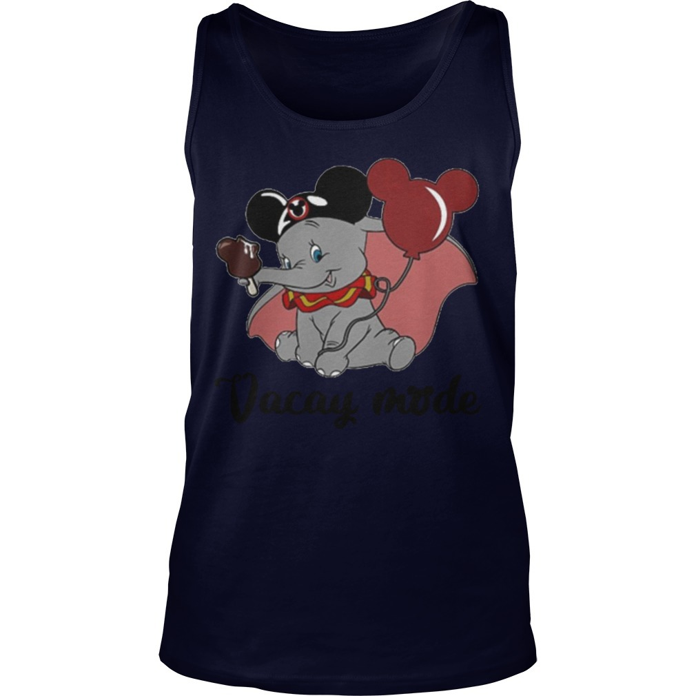 Dumbo Mickey Mouse Vacay Mode Tank Top