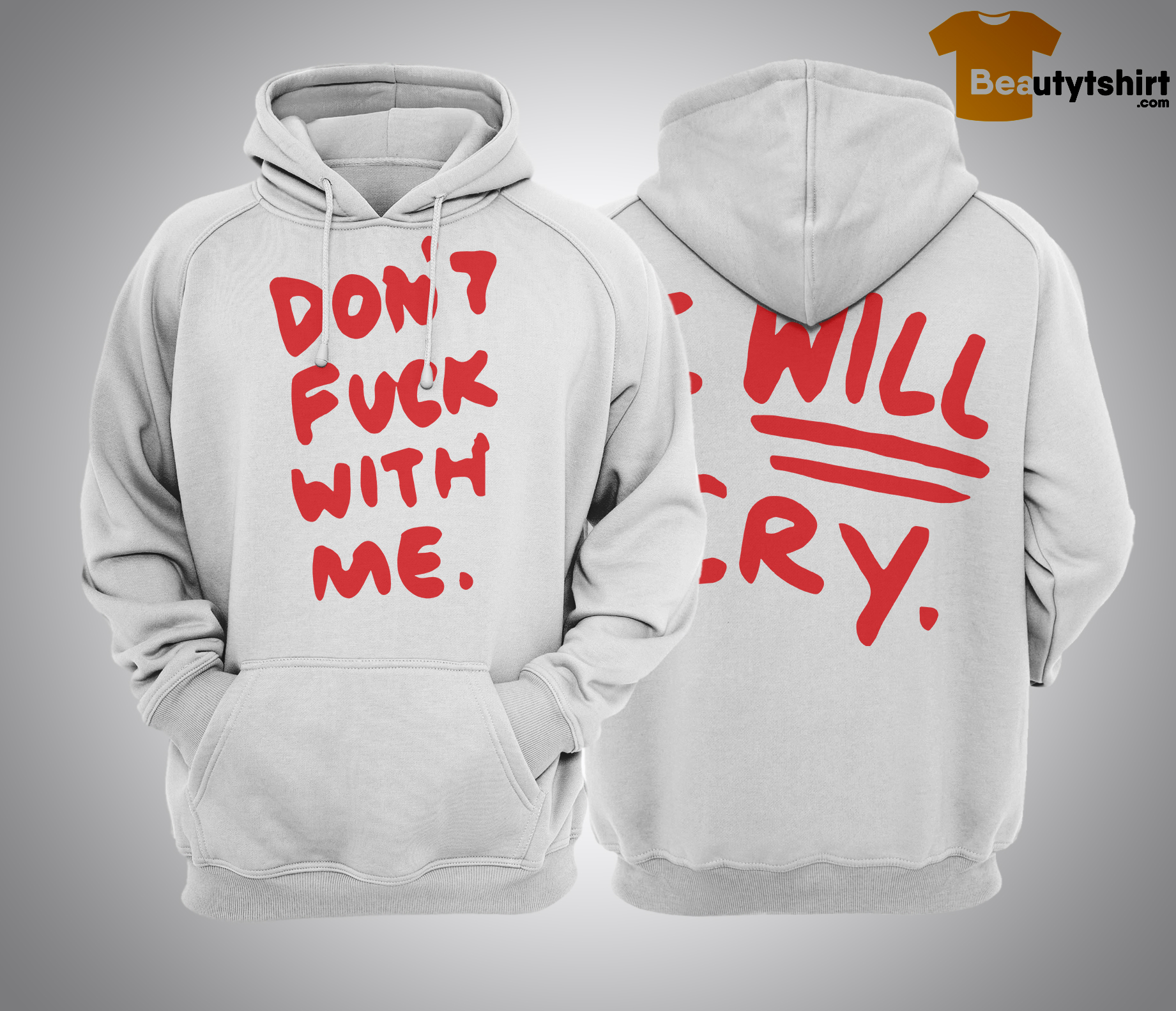 Ej Chong Don't Fuck With Me I Will Cry hoodie