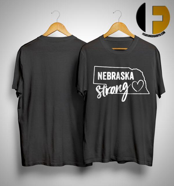 Flood Relief Nebraska Strong Shirt