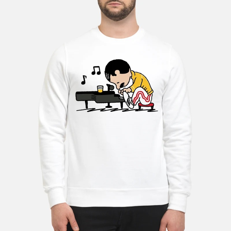 Freddie Mercury In The Style Of Peanuts Sweater