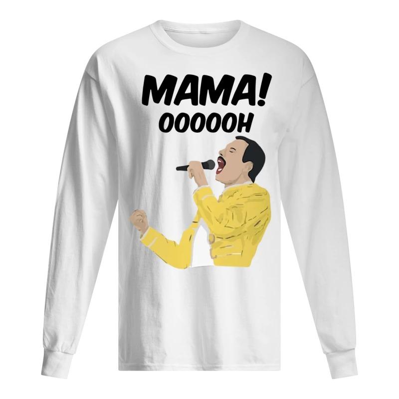 Freddie Mercury Mama Oooooh Longsleeve Tee