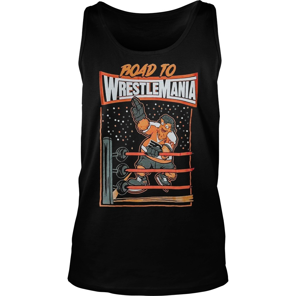 Gritty Wrestlemania Tank Top