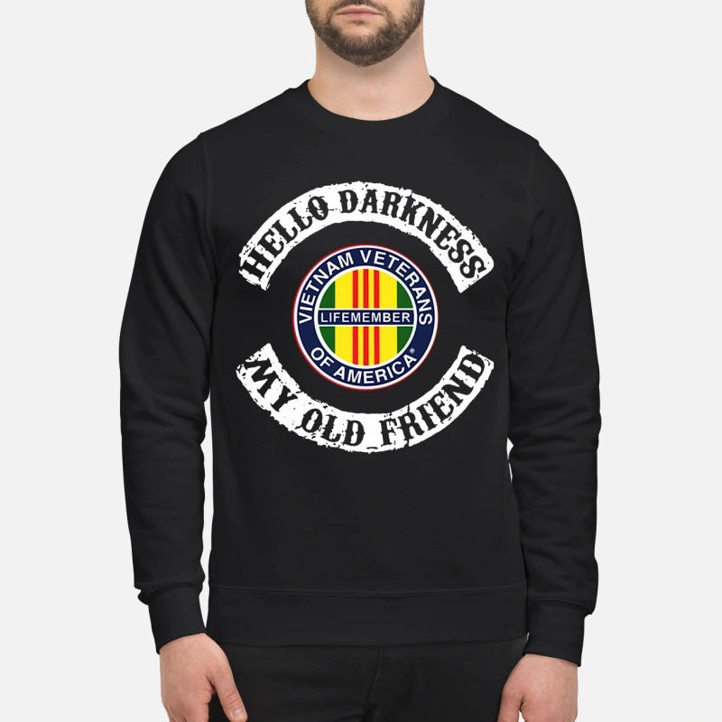Hello Darkness My Old Friend Vietnam Veterans Of America Sweater